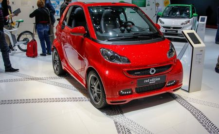 Smart Fortwo Brabus Xclusive Red Edition: Fortwo-itously Red