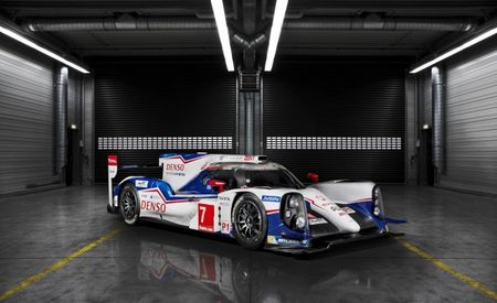Toyota Debuts 988-hp TS040 Hybrid Le Mans Racer, Takes Aim at Porsche and Audi