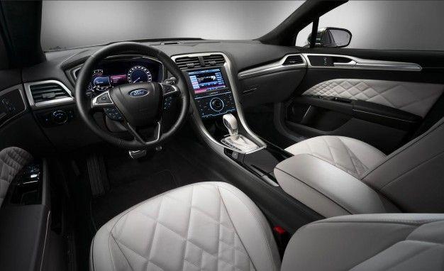 Elegant Ford Mondeo Vignale Concept Interior