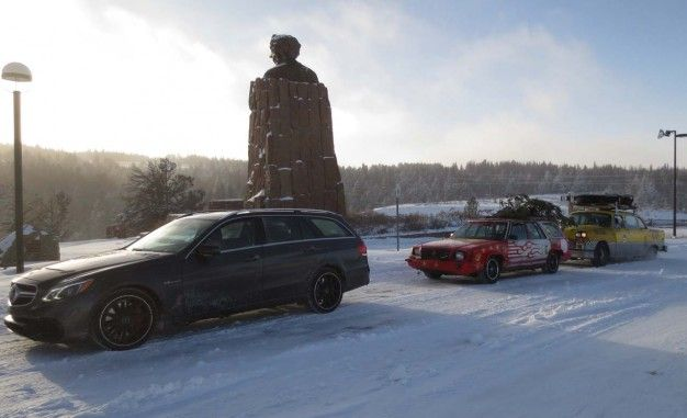 The Long, Sordid Tale of Our Road Trip Through Frozen Hell with the Best and Worst Station Wagons in the World