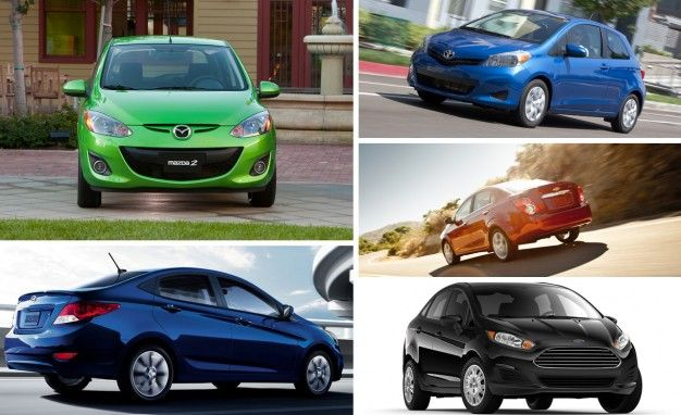 The 10 Cheapest New Cars Sold in America for 2014