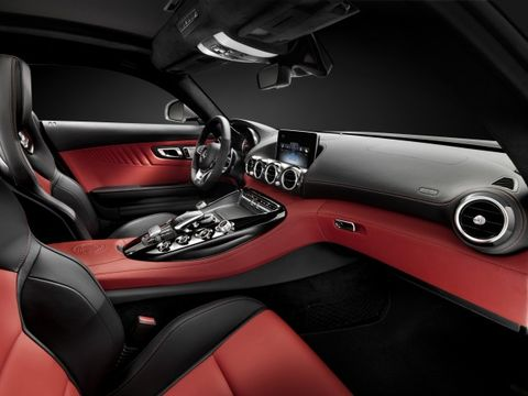 2016 Mercedes-AMG GT Lacks Benz Name, Has Neat Interior [2014 New York Auto Show]