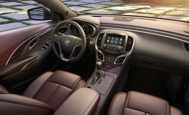 Spill the Sangria: Buick Unveils Ultra Luxury Package for LaCrosse, Could Spread to Other Models