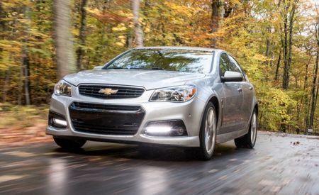 Manual-Equipped 2015 Chevrolet SS Sedan Might Be a Thing