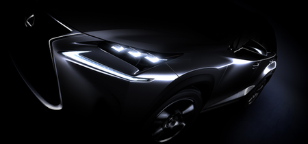 Lexus Teases Production-Spec NX Crossover Ahead of Debut [2014 Beijing Auto Show]