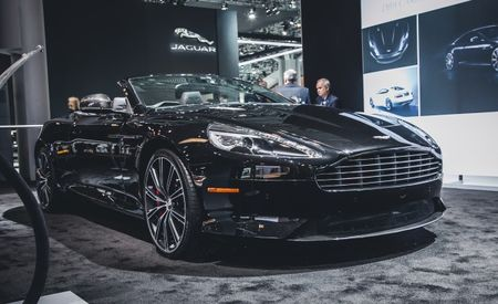 Dark Surprise: Aston Martin DB9 Carbon Editions Now Available in U.S. [2014 New York Auto Show]