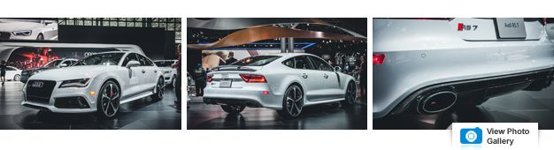 Audi brings the RS7 dynamic edition to New York to showcase the ...