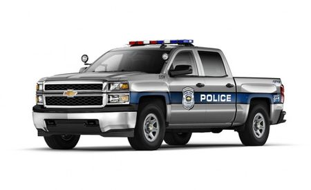 """Can't Spell """"1500"""" Without Five-Oh: Chevy Releases Silverado SSV Police Truck"""
