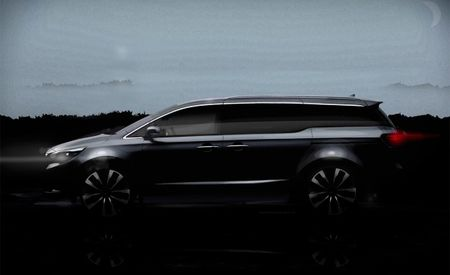 More Details of Kia's New Van Emerge—Including Its Name [2014 New York Auto Show]