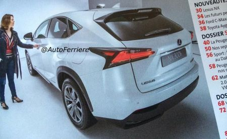 2015 Lexus NX Crossover Twerks for the Camera [2014 Beijing Auto Show]