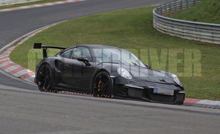 Rennsport! 991 Porsche GT3 RS Spotted Testing at Nürburgring