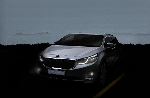 Nameless but Not Faceless: Kia Launching New People Mover [2014 New York Auto Show]