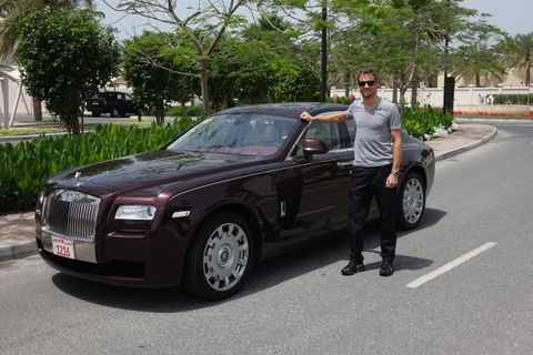 Fanciest Button to Button: Jenson Gets His Pick of Rolls-Royces for 2014 F1 Season