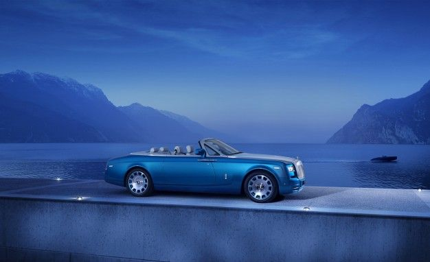 Rolls-Royce Phantom Drophead Coupe Waterspeed: Obscure Inspiration, Divine Execution
