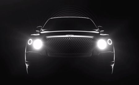 Bentley Previews SUV Again in New Video, More Styling Details Come to Light