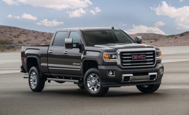 2015 GMC Sierra 2500 and 3500HD Trucks Gain All Terrain Off-Road Option