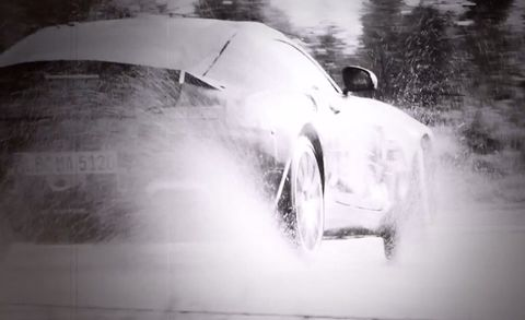 What Do I Get? A Teasing Look at the 911-Fighting Mercedes-AMG GT