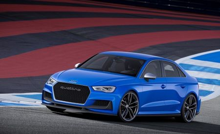 Pardon Our Drool: Audi Teases RS3 with Awesome 525-hp Concept