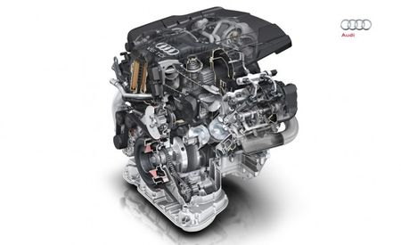 Latest Audi V-6 TDI Diesel Detailed, Capable of Up to 268 hp, 443 lb-ft