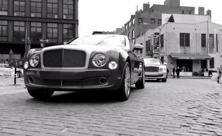 Watch: Gorgeous Bentley Video Shot with iPhones and Edited Using Mulsanne's Built-In iPads