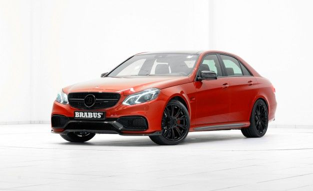 Don't Need Eyes In Your Face Anymore? Check Out Brabus's New 850-hp Mercedes E63 AMG