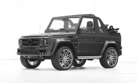 Wider is Better? G-wagen–Based Brabus Widestar 6.1 Now Available as Convertible