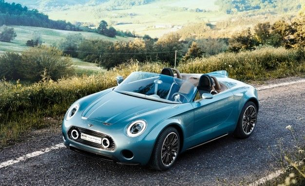 Mini Superleggera Vision Concept: Body by Touring, Soul by Mid-Century Racer