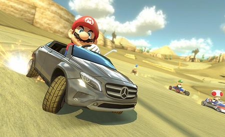The Koopa Troopa Lights Are Gonna Find Me: Mercedes-Benz GLA to Be Drivable in Mario Kart 8 [w/ Video]