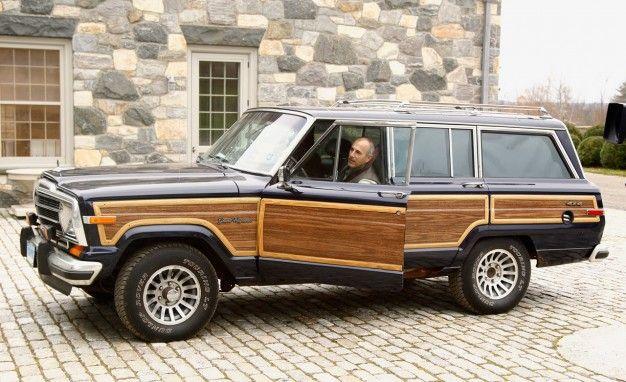 Delightful Jeep Grand Wagoneer With Matt Lauer