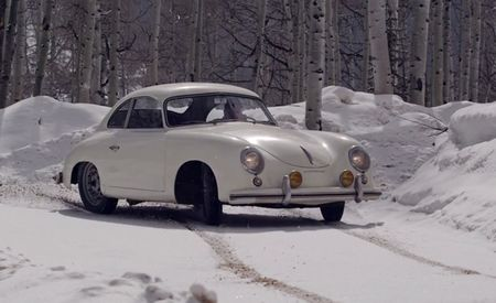 Drifting a Classic Porsche 356? In the Snow? Oh Hell Yes! [Video]
