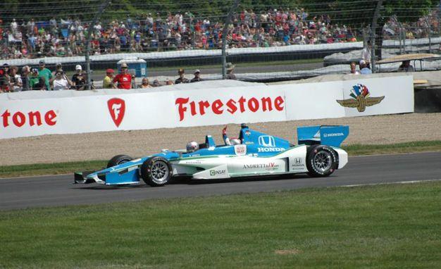 Back-Seat Ride in an IndyCar - Slide 1