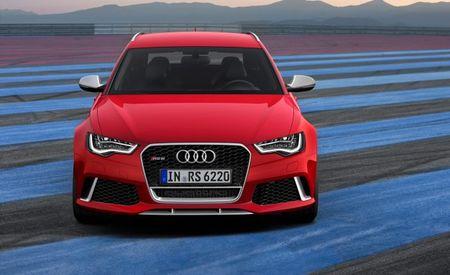 Five-Door F-Yeah: Audi Launching 600-hp RS6 Avant Plus Model