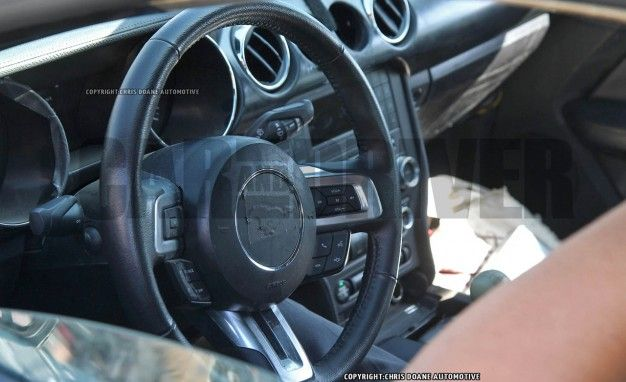 2016 Ford Mustang Shelby GT500 Interior Spied: 6500-rpm Redline, Racy Recaro Seats