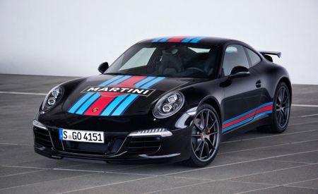 Stirred, Not Shaken: Porsche 911 Carrera S Martini Racing Edition Adds Decals, Not Power