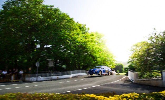 Creg-ny-Baa Stomp: Mark Higgins Sets New Isle of Man TT Automobile Record in a Subaru STI [w/ Video]