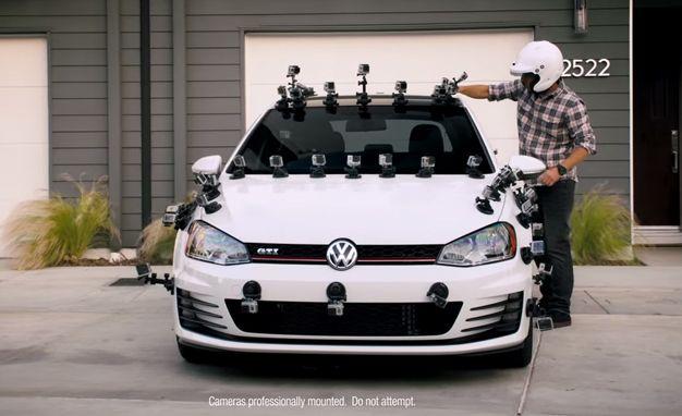 2015 Volkswagen GTI + Tanner Foust + Too Many GoPros to Count = Fahrvergnügen