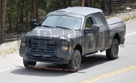 Magnet Applied to Ford F-250 Prototype, Appears to Strike Aluminum [Video]