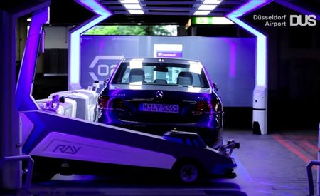 Your Daily Dose of THE FUTURE: Robots Valet-Parking Cars at German Airport