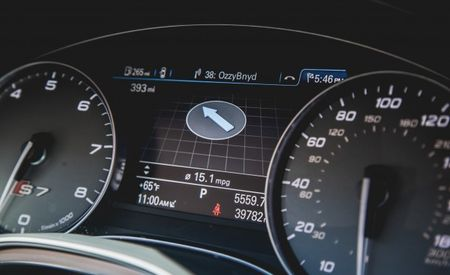 2013 Audi S7 Quattro Long-Term Logbook: One Slick Driver Information Display