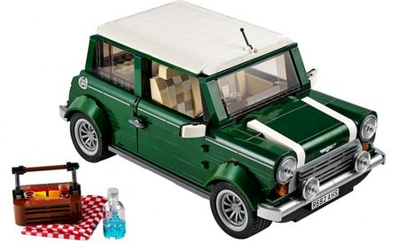 Lego Releases Mini Cooper Model, We Want It Ever So Badly