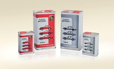 Porsche's Own Classic Motor Oil Keeps Your Air-Cooled Car Running the Porsche Way