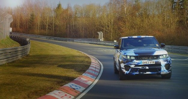 Video: 550+hp Range Rover Sport SVR Brutalizes the 'Ring, More Details Emerge