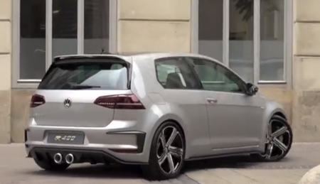 Watch: VW's Golf R400 Concept Sounds Positively Filthy
