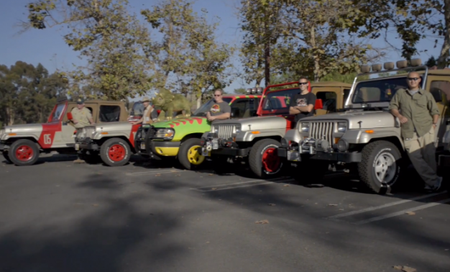 Jurassic Peeps: The Jurassic Park Motor Pool Geeks Out on Tweaking Jeeps