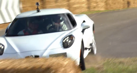 Video: Alfa Romeo 4C Eats Hay at the Goodwood Festival of Speed