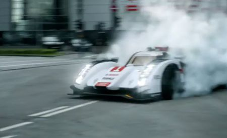 Audi's R18 e-tron Le Mans Racer Leaves Residue on Porsche's Doorstep [Video]