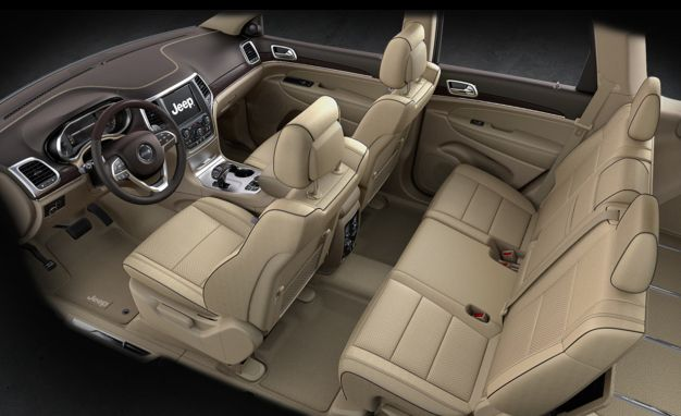 View Photos 2014 Jeep Grand Cherokee 4x4 Overland Interior