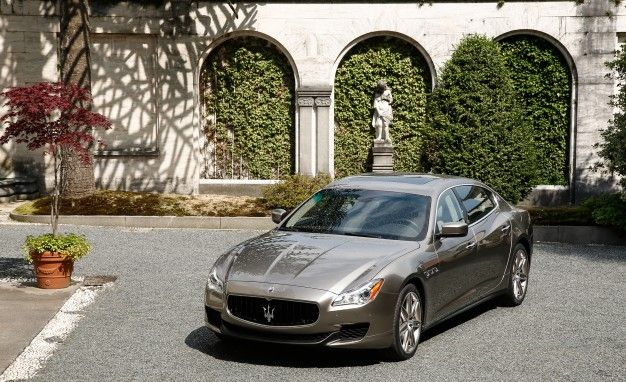 Fancy, Squared: Maserati to Build 100 Quattroporte Ermenegildo Zegna Limited Edition Sedans