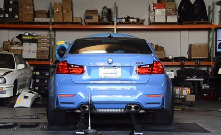2015 BMW M3 Throws Down Huge Dyno Numbers! [Video]