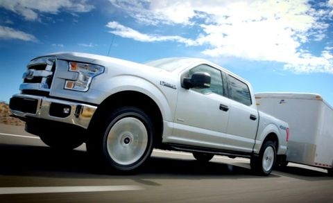 ford    ecoboost output towing announced news car  driver